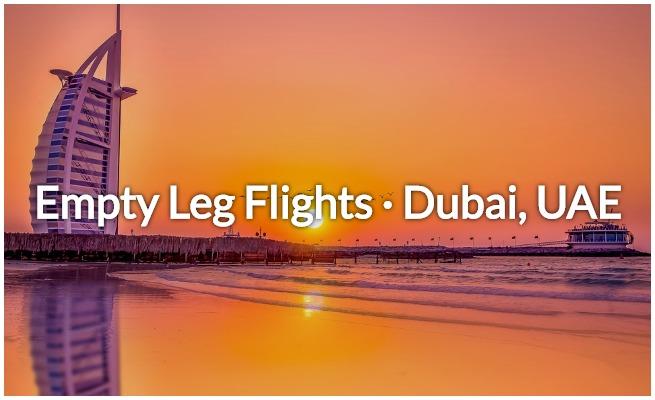 Empty Leg Flights in Dubai | Deadhead Jets in Dubai, UAE