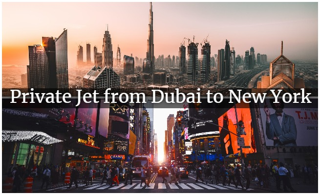private jet from dubai to new york